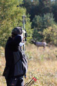 Shooting at a 3D target